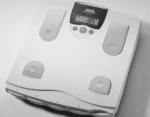 Body Fat Monitoring bathroom scale [Model TBF-531] by Tanita (TM)