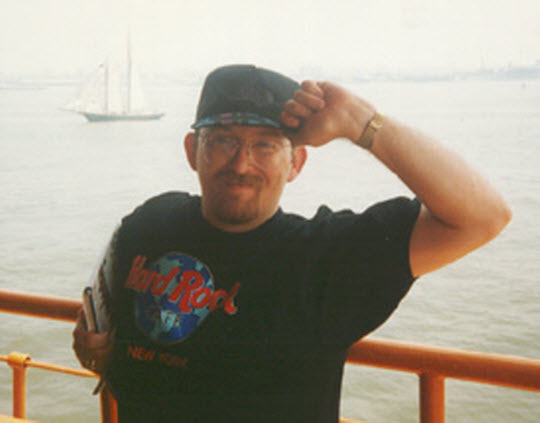 1996.06 In New York City on the Staten Island Ferry