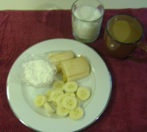 My breakfast July 16, 2011 ©