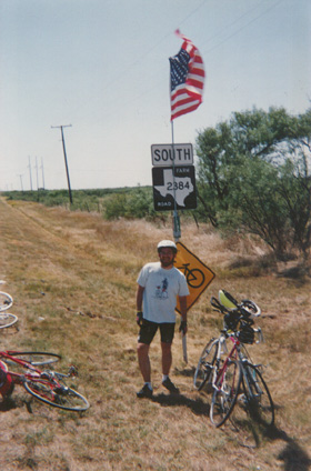 Me around mile 67-ish in the 1992 Hotter than Hell Bike Ride