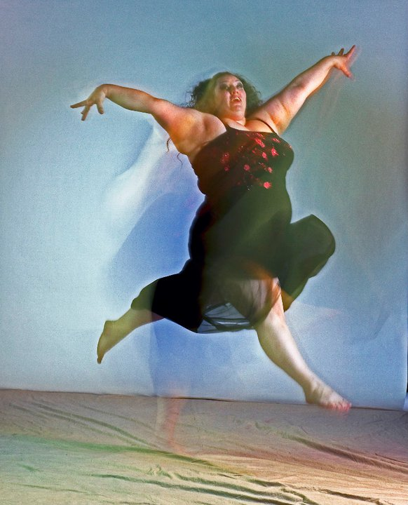 Ragen Chastain, dancer and author of 'Dances With Fat' [Image used by permission]