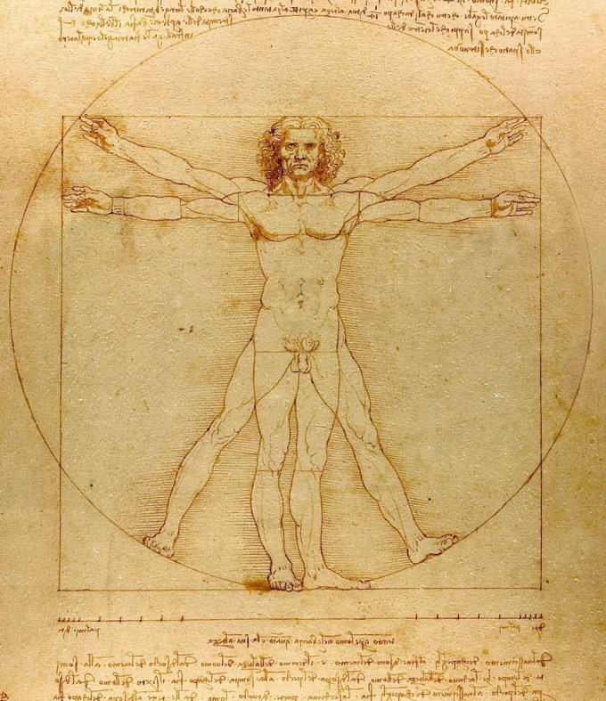 The Da Vinci Man