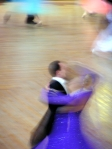 Blurry Ballroom Dancers [CC]