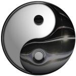 Yin Yang-Molten Black and White (CC)