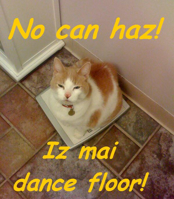 Iz mai dance floor ©2012