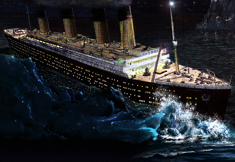We've struck an Iceberg in an ocean of Green Tea... (2/4)