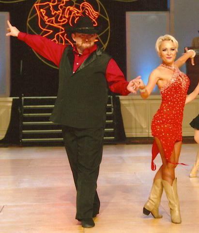 Dancing with Natalja Sawal