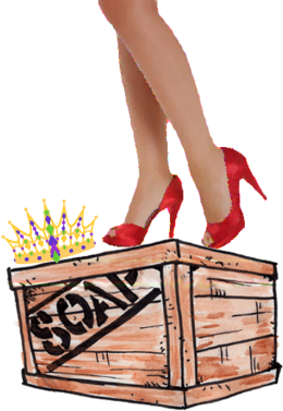 My Inner Domestic Diva on a Soapbox ©
