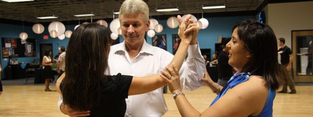 Araceli Torres Teaching a private Lesson at the Go Dance Studio in Austin Texas