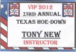 Hoedown Namebadge ©