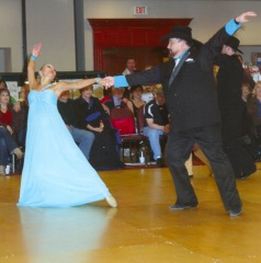 Natalja and I dancing ©