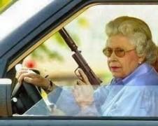 Granny's got a gun...