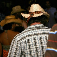 Cowboy Dancing at a club (CC)
