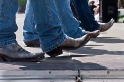 Line Dance Cowboy Boots (CC)