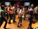 Line Dancers in a Country Bar (CC)