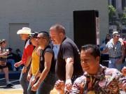 Line Dancers Outside (CC)