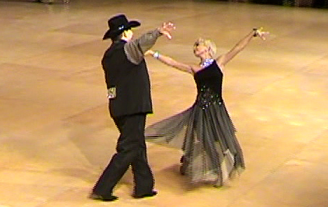 Tony and Natalja dancing the Triple Two Step ©