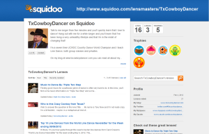 TxCowboyDancer on Squidoo ©