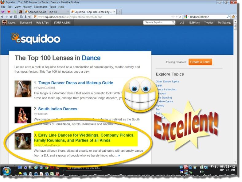 #3 in Dance!