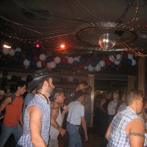Line Dancers - Decorated Ballroom (CC)