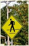 Pedestrian sign (CC)