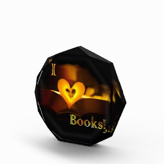 I Love Books - I Heart Books Paperweight
