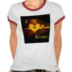 I Love Books - I Heart Books shirt