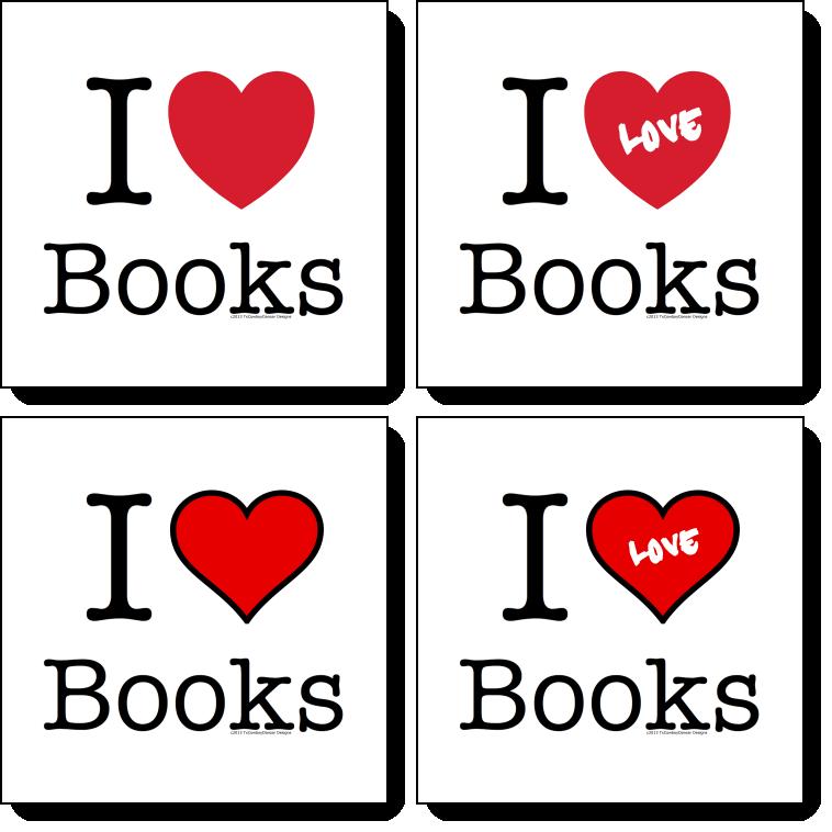 I heart books - I love books