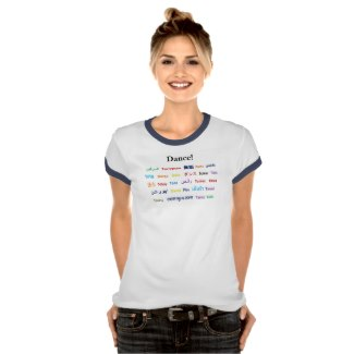 Language of Dance Girl Shirt