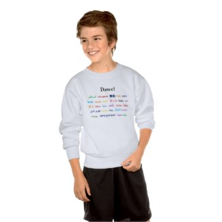 Language of Dance Kid Shirt