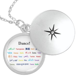 Language of Dance Necklace