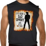 Muscle Shirt - I've been a bad cowboy send me to your room c2013 TxCowboyDancer Designs available on zazzle.com