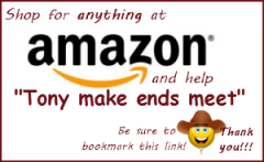 Shop for anything at Amazon and help Transform Tony in 2013-300px