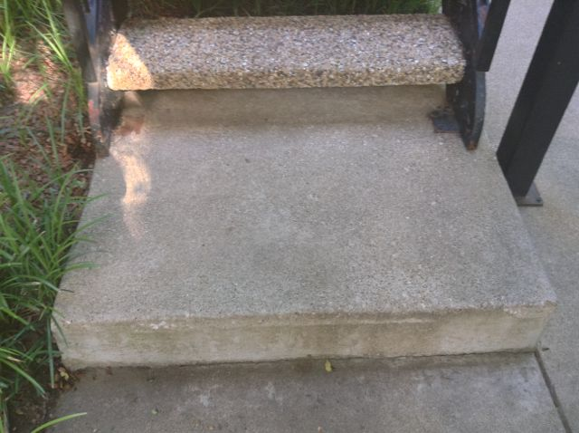 33. Oh goodie... un even stairs of varying heights!
