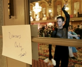 Dancers Only -- photo from the Gay Games in Chicago