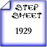 step sheet-1929