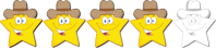 4 stars from TxCowboyDancer