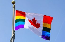 Canadian Gay Flag
