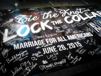 Banner at the Dallas Eagle