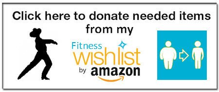 Donate one or more of the items from Tony's Amazon Wish List to help him on his journey to health and fitness!