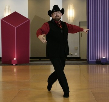 Tony New competing in Line Dance at Chicagoland Dance Festival