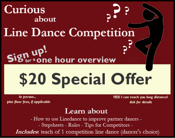 Introduction to Line Dance Competition
