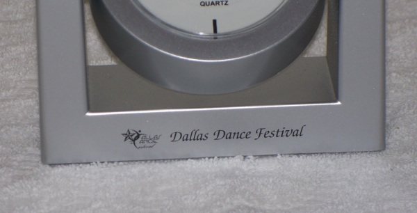 Close up of the Logo and Event Name