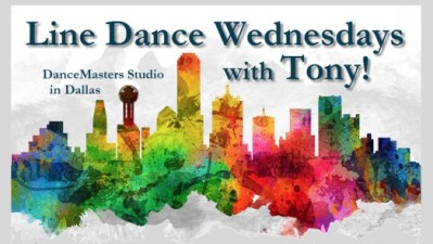 Line Dance Wednesdays with Tony in Dallas