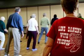 Line dancers t-shirt 682x459