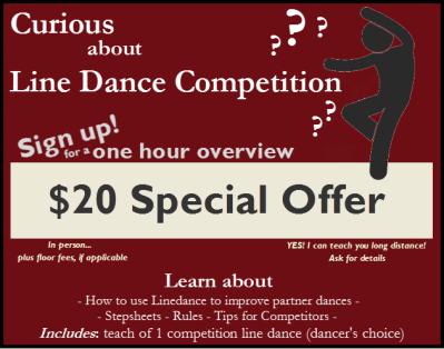 Curious About Line Dance Compeition?