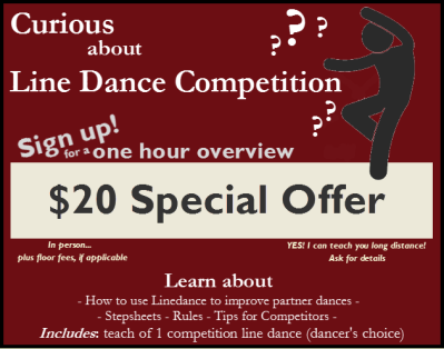 Curious About Line Dance Compeition?