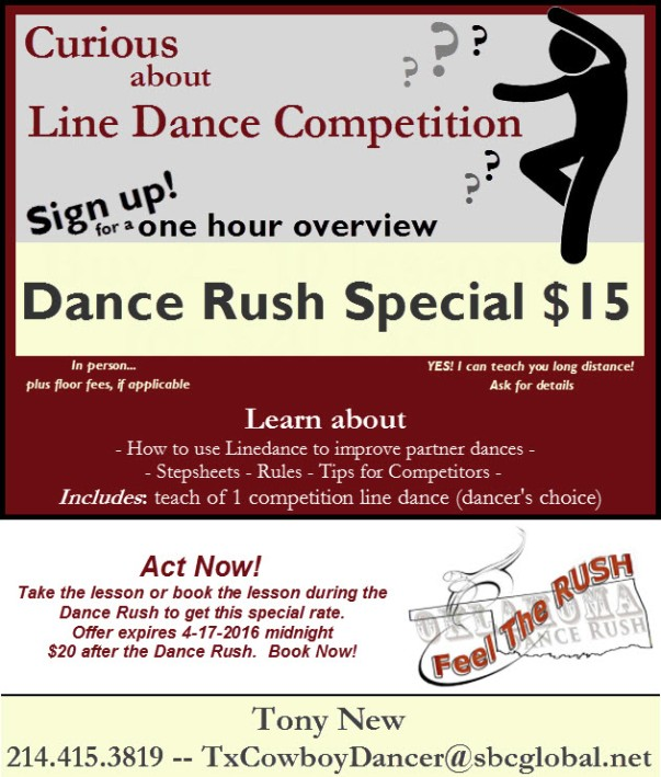 special-intro offer - OK dance rush version