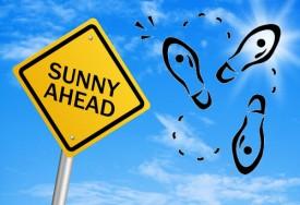 sunny ahead dancing