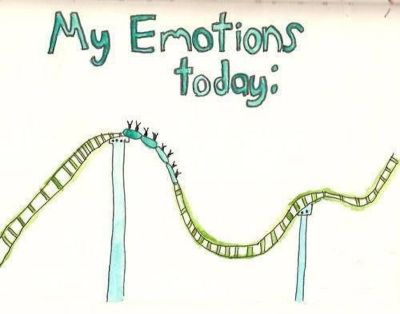 My Emotions Today - An emotional roller coaster